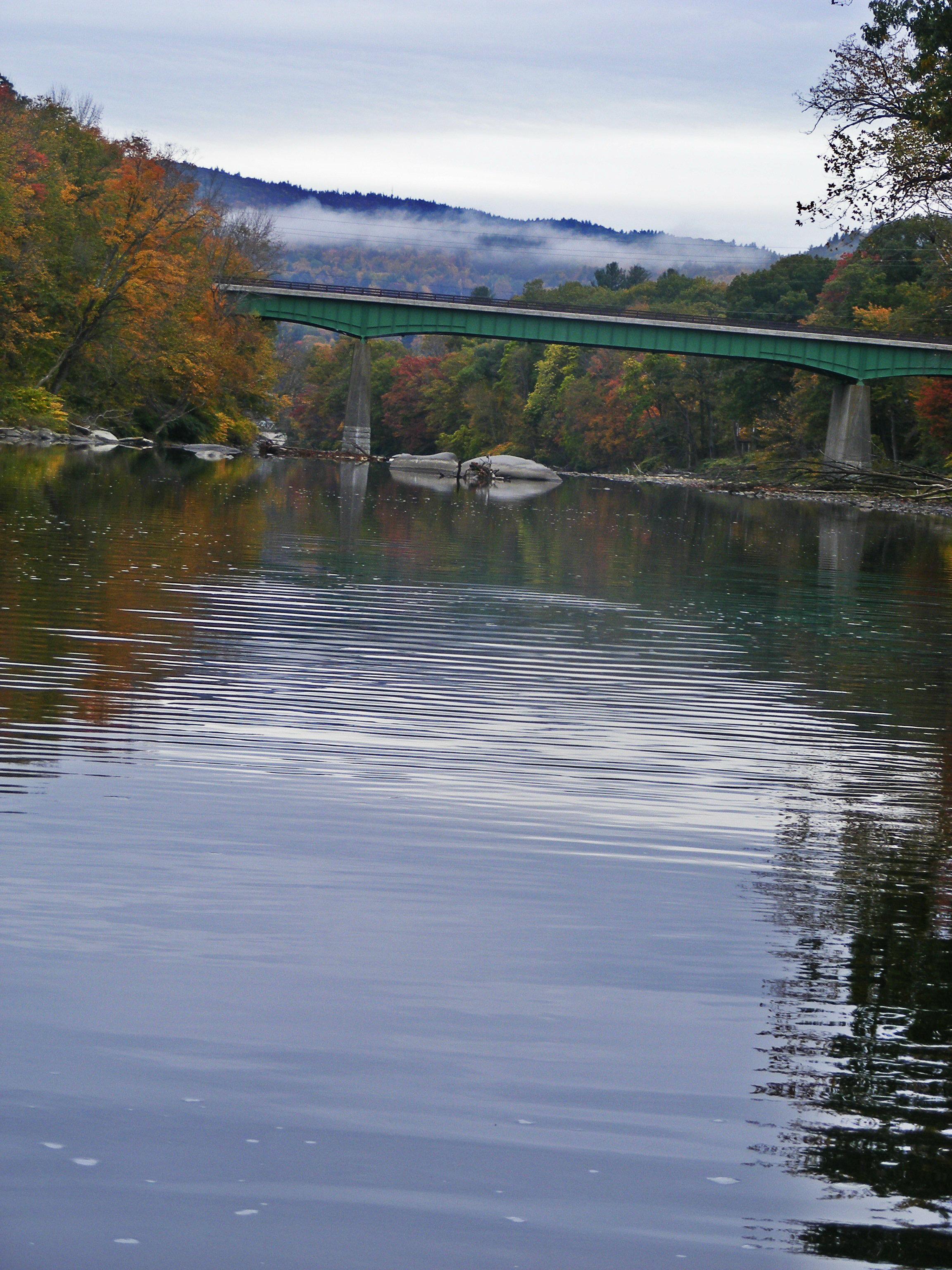 November on the deerfield river for Deerfield river fly fishing