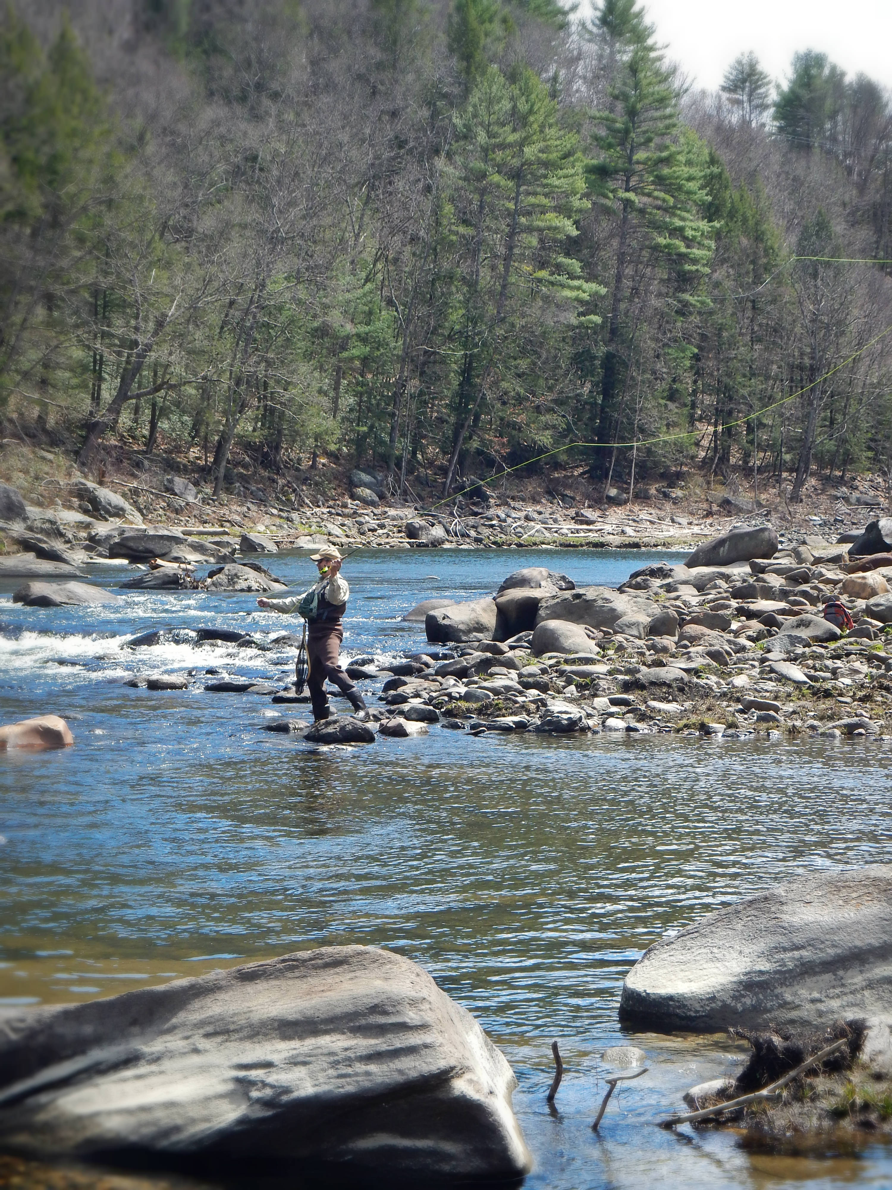 Guiding on the deerfield river for Deerfield river fly fishing